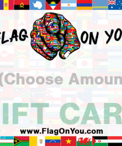 Flag On You Gift Card