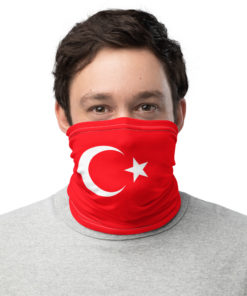 neck gaiter turkey flag