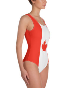 Swimsuit Canada flag