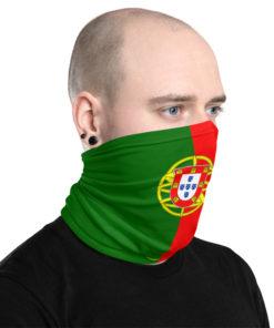 neck gaiter portugal flag