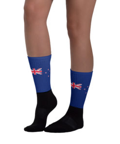 Socks New Zealand Flag