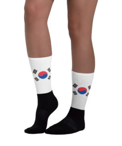 Socks South Korea Flag