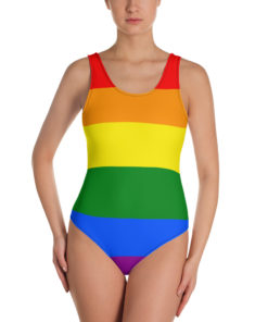 Swimsuit LGBT Gay Pride flag