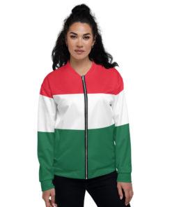 hungary unisex bomber jacket