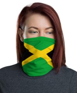 Neck Gaiter Jamaica flag