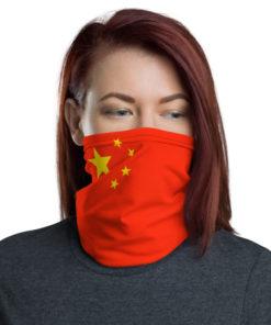 Neck Gaiter China Flag