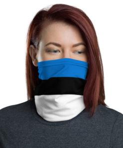 Neck Gaiter Estonia Flag