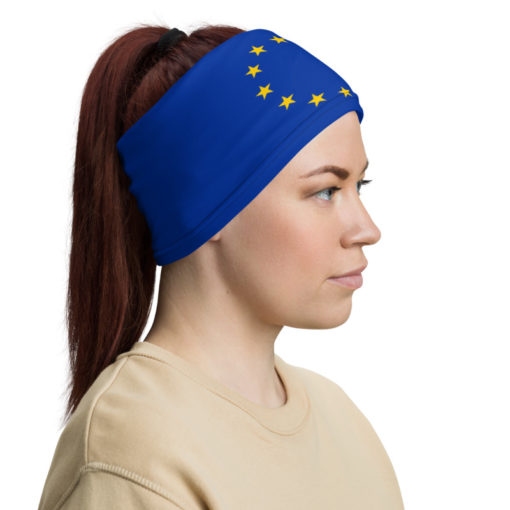 Neck Gaiter European Union Flag