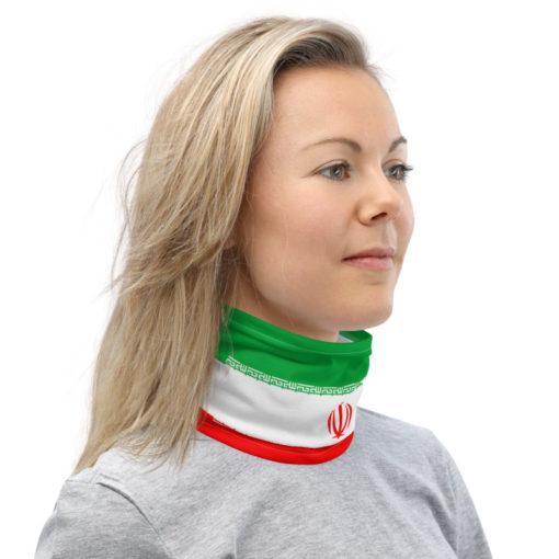 Neck Gaiter Iran Flag