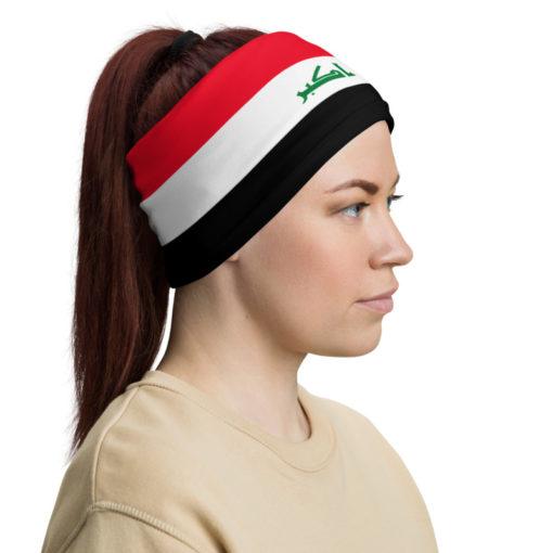 Neck Gaiter Iraq Flag