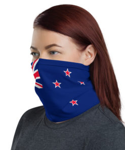 Neck Gaiter New Zealand Flag