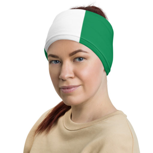 Neck Gaiter Nigeria Flag