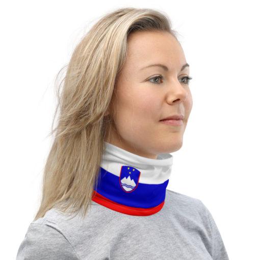 Neck Gaiter Slovenia Flag