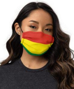 Face mask Bolivia Flag