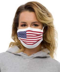 Face Mask USA Flag