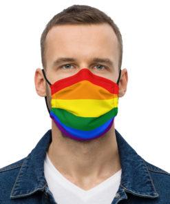 Face Mask LGBT Flag