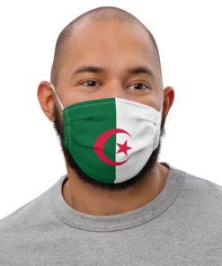 Face mask Algeria Flag