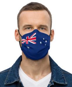 Face mask Australia Flag