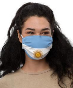 Face mask Argentina Flag