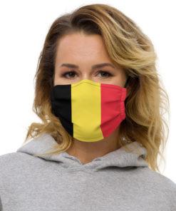 Face mask Flag Belgium