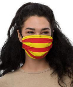 Face mask Catalonia Flag